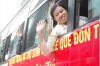 Tổ chức đưa sinh viên về quê vui Tết Nguyên đán 2015